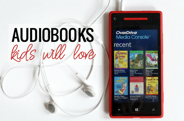 Great Audiobooks kids will love - and grownups too.