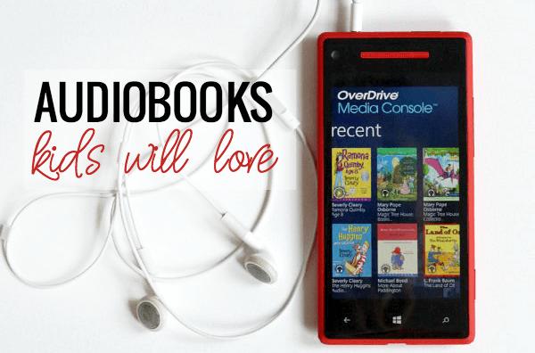 Great Audiobooks kids will love - and grownups too.