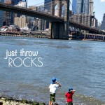Simple Play Activity: Throw Rocks