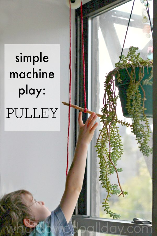 The Pulley Simple Machine Project