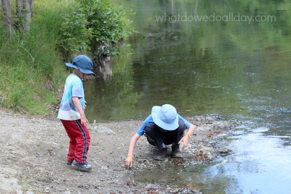 Wonderful, simple, entertaining free play outdoor activity.