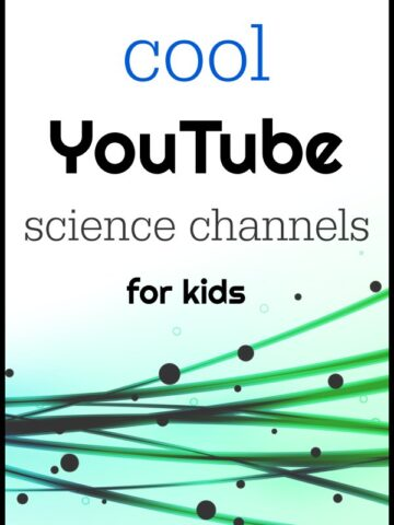8 Science youtube channels for kids