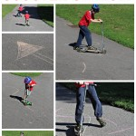 Gross Motor Activity: Scooter Slalom
