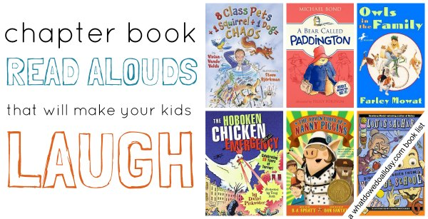Funny books for kids.