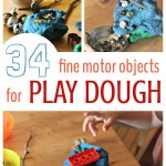 34 Play Dough Activities for Fine Motor