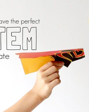 Kids love this STEM activity