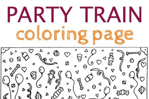 Free, printable train coloring page for kids by children's book illustrator.