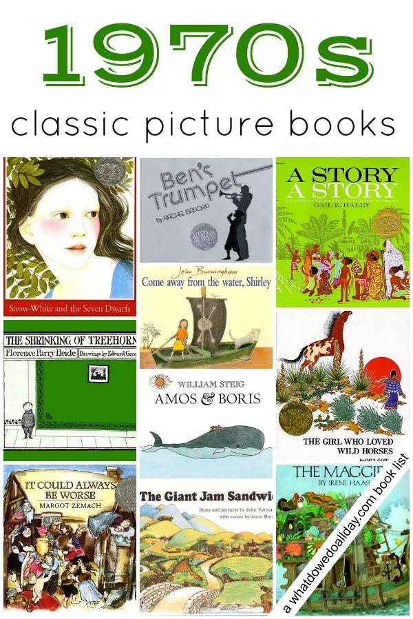 1970s Childrens Books Picture Books