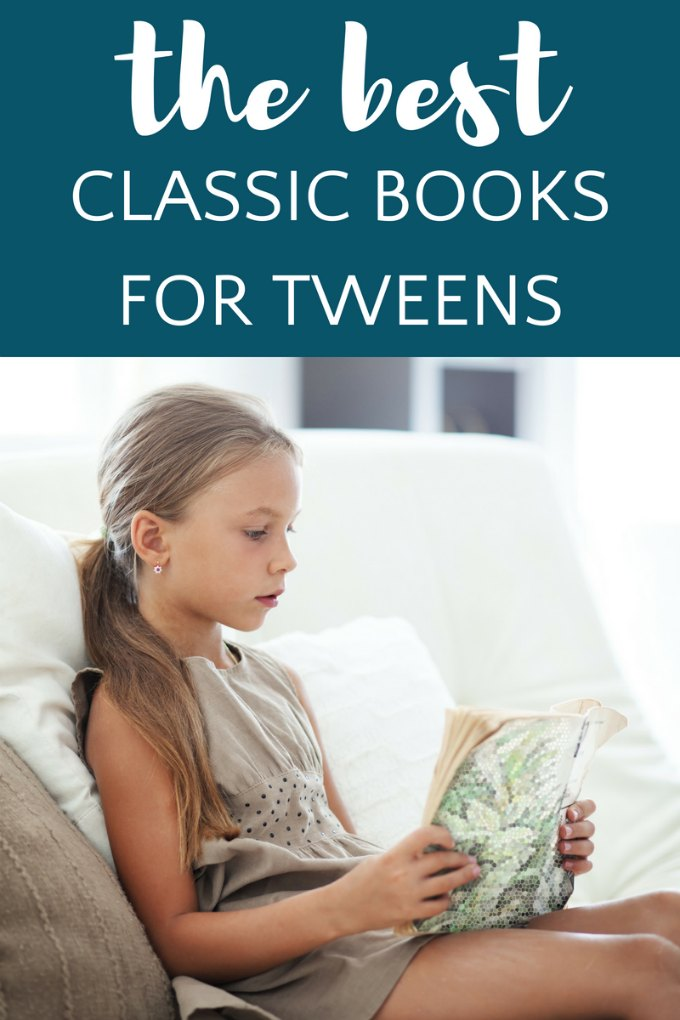 Classic children's books for 8-12 year olds. Tweens will like these books, even though their parents read them when they were kids!
