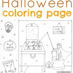 Halloween Coloring Page for Kids {Plus Giveaway}