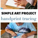 Easy Handprint Art Project (For Kids Who Hate Art)