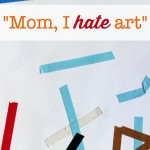 My Kid Hates Art: Tape Project
