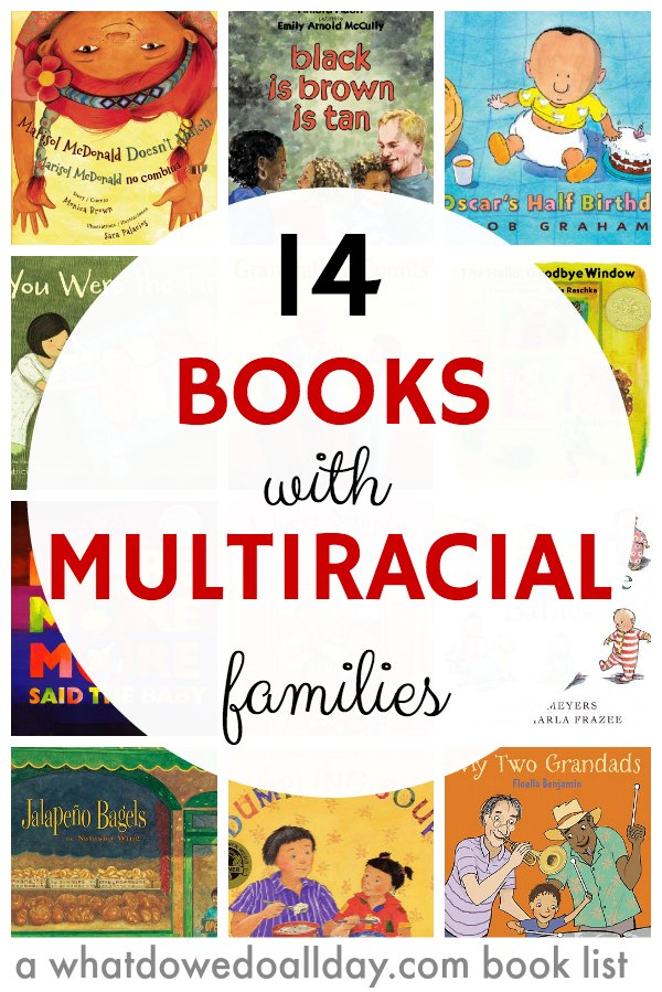 14 Childrens Books With Multiracial Families