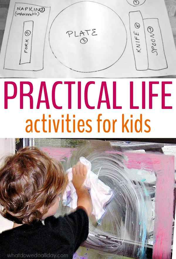 12 Practical Life Activities For Kids Inspired By Montessori