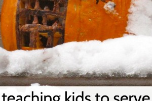 Tips for teaching kids compassion on Halloween.