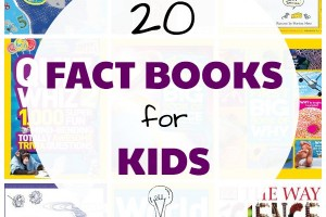 20 Nonfiction Books for Kids Who Love Facts!
