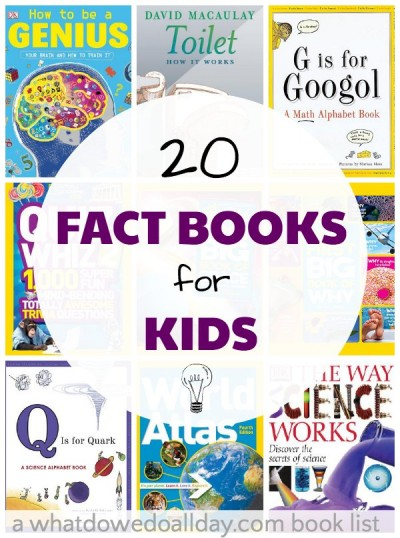 20 Nonfiction Books For Kids Who Love
