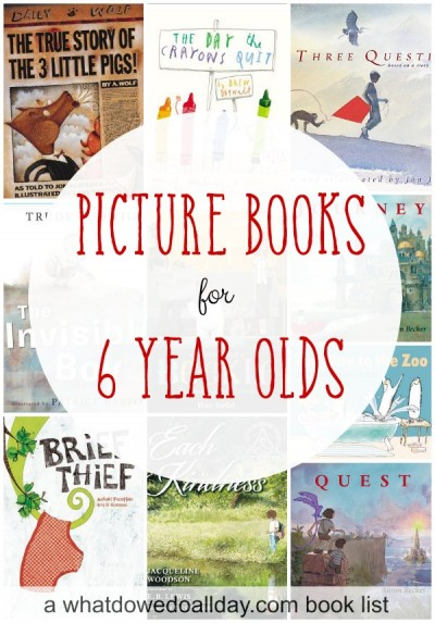 10 Picture books older kids will enjoy.
