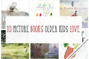 10 picture books to read to older kids