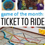 Game of the Month: Ticket To Ride
