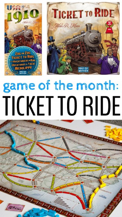 Favorite family game - Ticket to Ride.