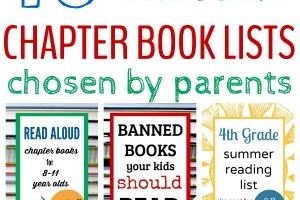 The most popular and best chapter book lists for kids.