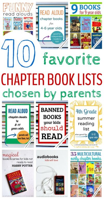 Best Chapter Book Lists For Kids