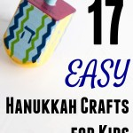Easy Hanukkah Crafts for Kids