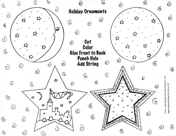 christmas in sweden coloring pages - photo#12