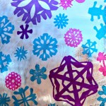 "Snowflake ""Stained Glass"" Window Project"