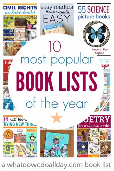 The top picture book lists of the year, chosen by readers.