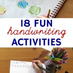 18 Fun Handwriting Activities for Kids (Even the Reluctant Ones)