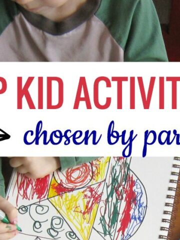 top kid activities that are easy