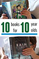 Chapter books for 10 year old boys and girls.