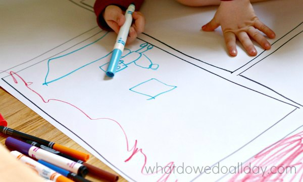Make your own comic strip for kids