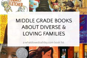 middle grade books about diverse families