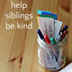 "A ""Tip Jar"" to Help Siblings Get Along"