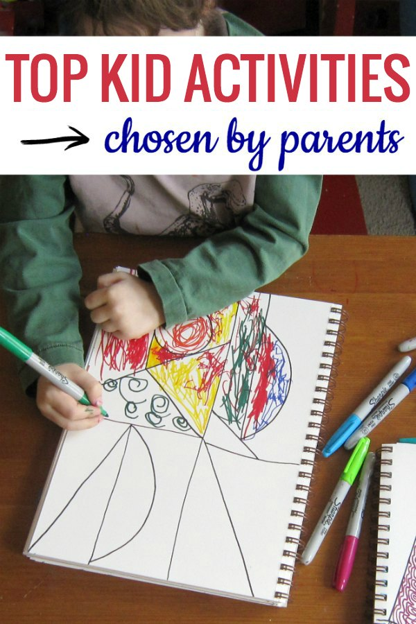 Parents love these top kids activities to do at home