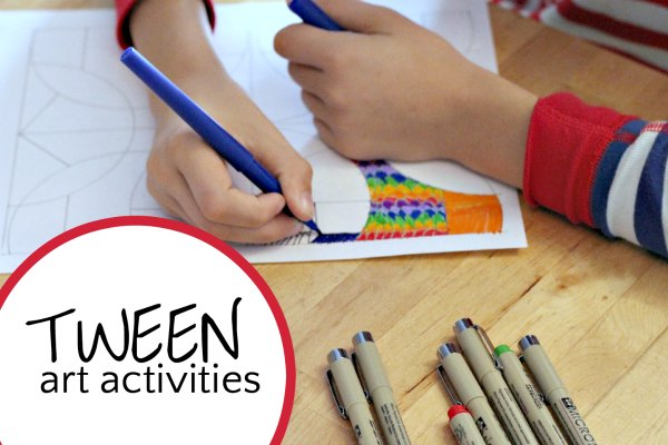 Art activities for tweens