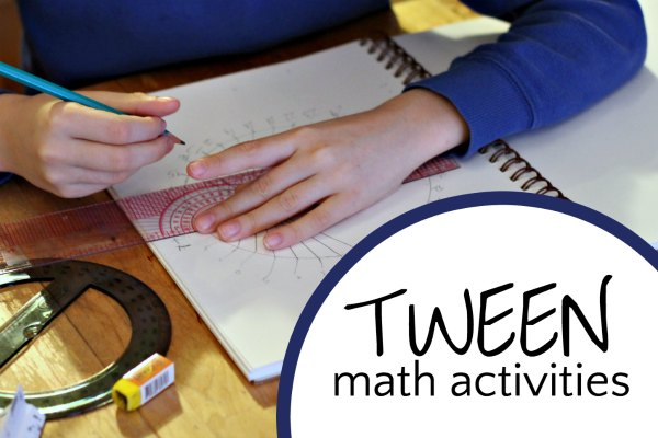 Math activities for tweens and kids.