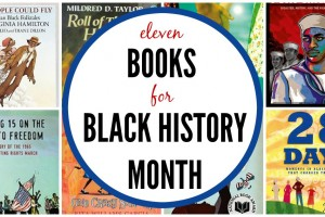 Black history month books for kids.