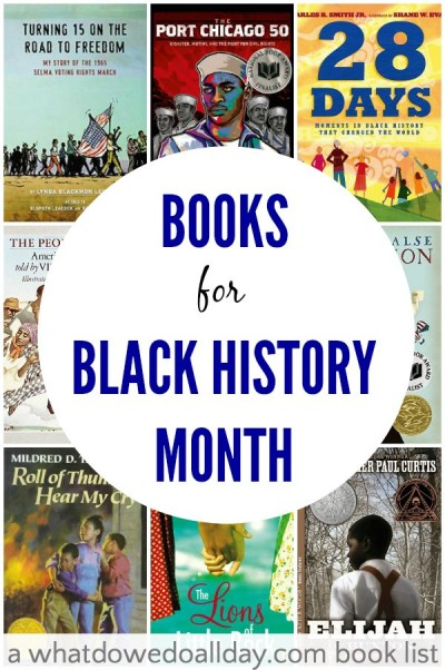 Book Cover Black History : Chapter books for black history month