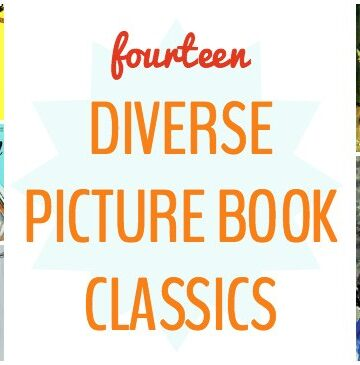 Diverse picture books for kids.