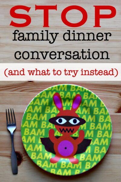 No need to force family dinner conversations. Try something fun for family bonding time.
