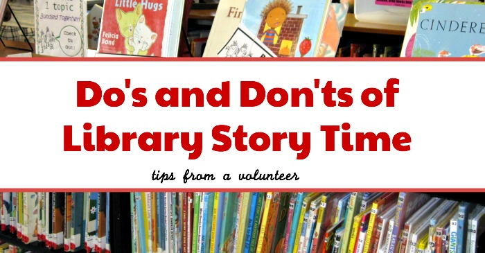 The Dos And Don'ts Of Story Time (Tips From A Volunteer