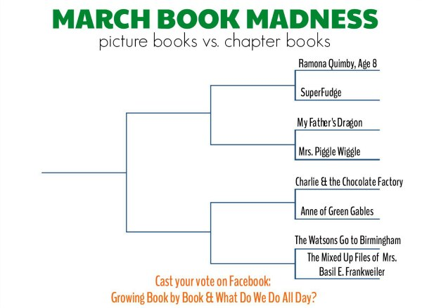 March book madness. A friendly (sort of) book competition!