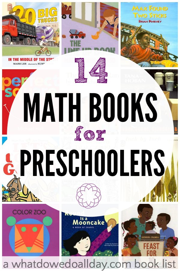 Math Books for Preschoolers