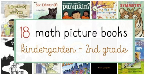 A list of fun math picture books