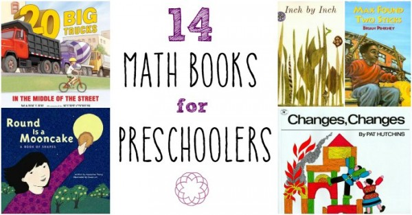 Fun math books for preschoolers.