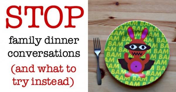 Dinner conversation alternative